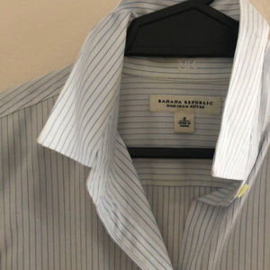 Banana Republic Fitted Button-Up